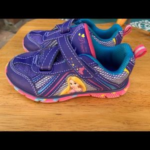 Disney Princess Rapunzel Tennis Shoes